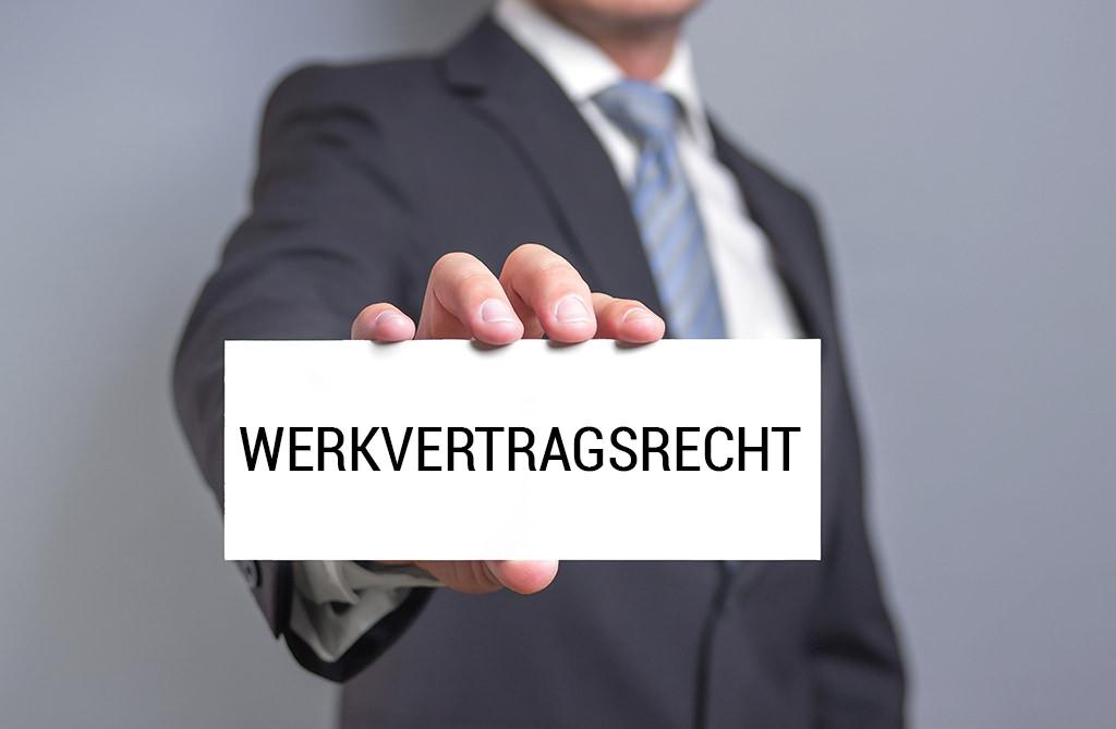 Frank Oberdorf - Werkvertragsrecht